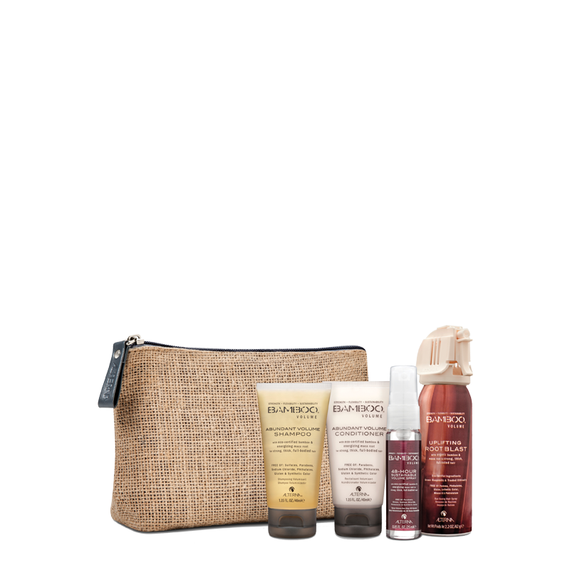 alterna Bamboo Volume Travel set potovalni set za volumen za lase brez volumna