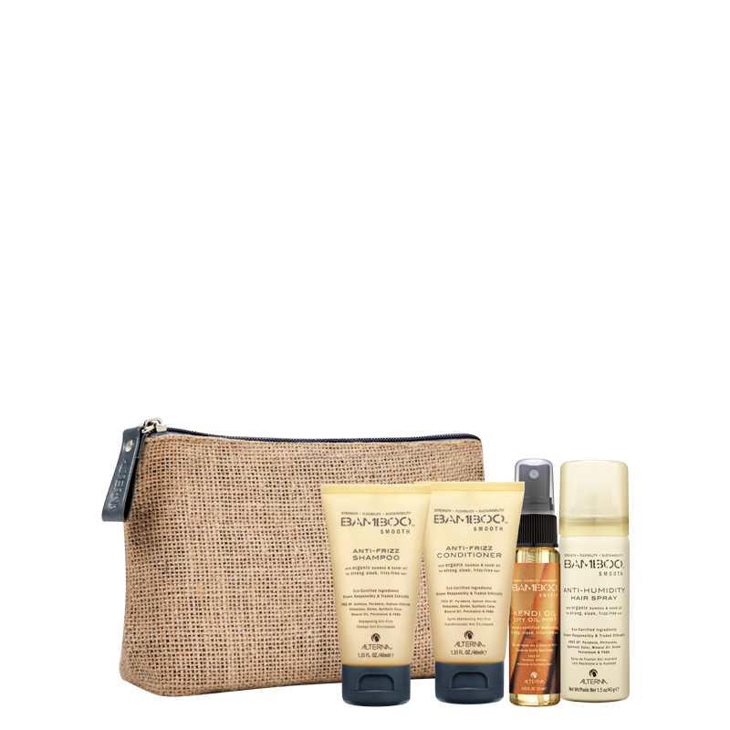 bamboo alterna Smooth Travel Kit potovalni set za suhe lase