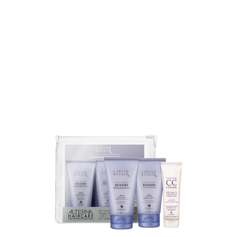 alterna caviar Repair Beauty travel kit potovalni set za suhe poškodovane lase